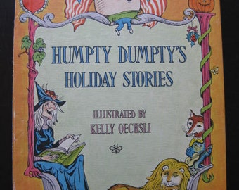 Humpty Dumpty's Holiday Stories 1973  // Out of Print