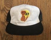 Vintage E.T. the Extra-Terrestrial Trucker Hat Snapback Baseball Cap