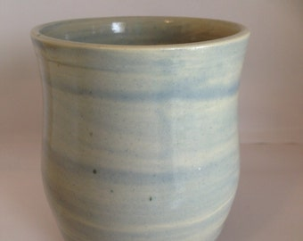 Light Blue Candle Holder/Tumbler