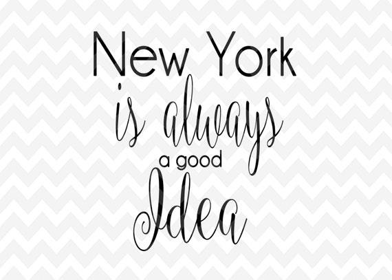 new york svg city clip art png cameo cricut silhouette