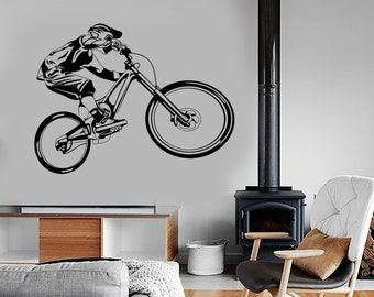 Mountain Bike Decal Etsy - Bike vinyl stickers