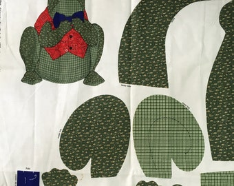 Buddy the Frog - Fabric Panel