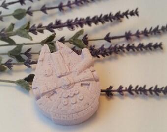 Millennium Falcon Lavender Bath Bomb