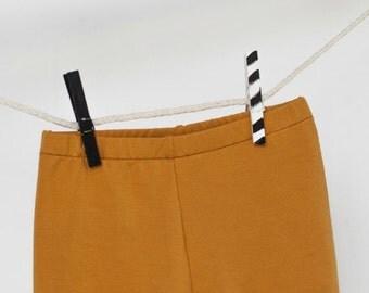 GOMME BALLOUNE - short, cover-diaper - ochre yellow