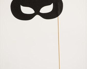 Super Hero Felt Photo Booth Props- Catwoman Mask -Handmade photo booth props - Felt Props - Photo Booth - Props