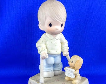 Blessed Are They That Overcome Precious Moments Figurine