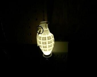 grenade night light