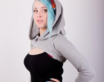 Hooded shrug