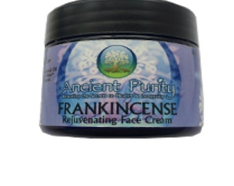 Frankincense Rejuvenating Cream - 50ml  natural rejuvenating face cream for dry or maturing skin.