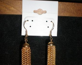 Big Gold Chain Earrings