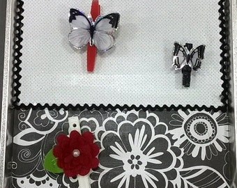 Black & White Magnetic Board