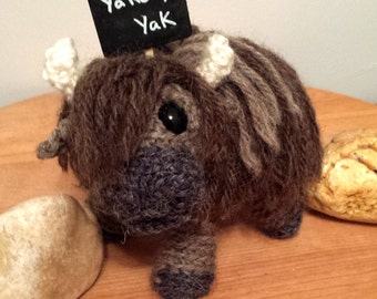 Yak Buffalo Bison Crochet Pattern