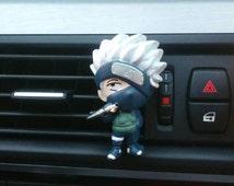Naruto Kakashi Hatake * Handmade, Car vent clip, car air freshener, car interior, car accessory, car fragrance