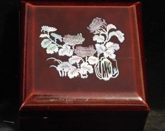Korean Mother of Pearl inlay treasure box