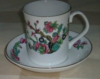 Mug and Saucer Indian Tree Pattern