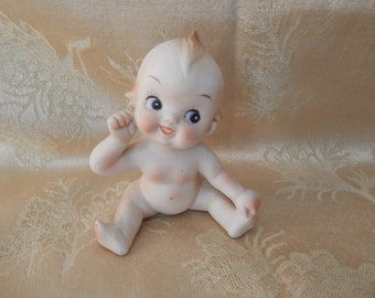 Kewpie Doll Figurine Bisque Japan Vintage 1970s