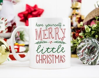 Christmas mug | Etsy