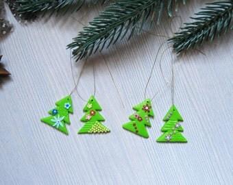 Family gifts Christmas decoration Christmas gift for kids gift Christmas tree decorations set Miniature Christmas trees Holiday gift set
