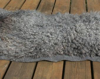 Gotland felted piece/ gevild kleed