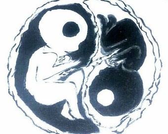 "Painting- ""Unborn Peace"""