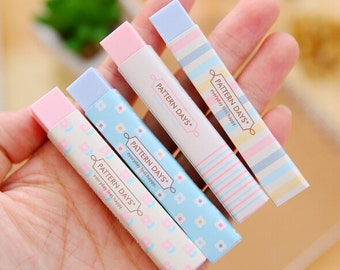 Kawaii Stick Erasers / Cute Pencil Erasers / Kawaii Pencil Erasers / Long Stick Erasers / Cute Stick Erasers / Cute Erasers / Kawaii Erasers