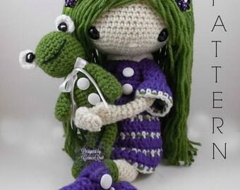 November - Amigurumi Doll Crochet Pattern