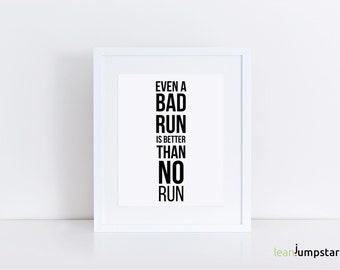 Running Art, Running Quotes, gifts for runners, Inspiring quotes, running poster, motivational wall decor, healthy gift, daily routine, art