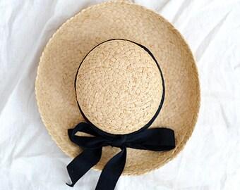 Straw Prairie Hat   Talbots