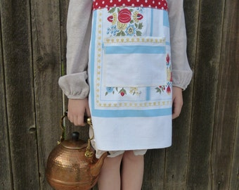 Little Girl's Tablecloth Apron