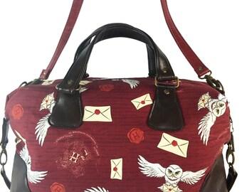 Harry Potter Acceptance Letter Hogwarts Brooklyn Large Handbag/Overnight Bag