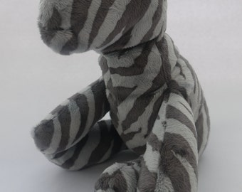 Soft plush cuddly Zebra  toy