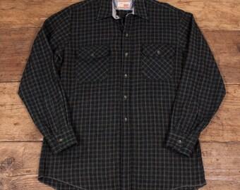 "Mens Vintage 1970's Classic Levis Lumberjack Shirt Size Medium 38"" HW65"