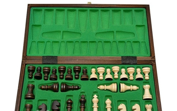 Chess Set Wood Chess Board Wooden Checker Board Chess By