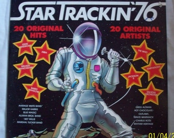 Star Trackin 76 vinyl record
