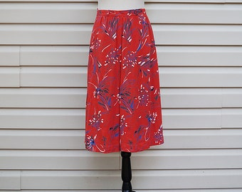 VINTAGE 70s Mid Length Skirt
