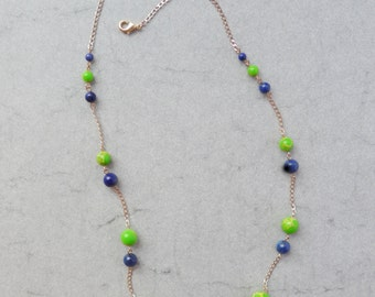 Tropical Summer Long Necklace