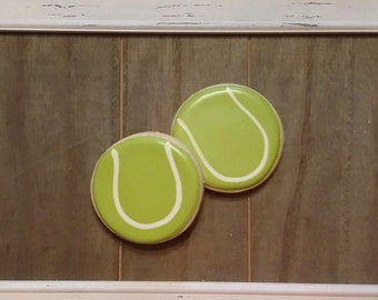 Tennis Ball Cookies - One Dozen