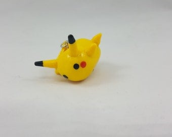 Pokemon Pikachu Chibi Polymer Clay Charm - Pokemon Inspired