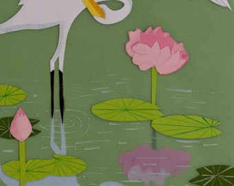 Limited Edition: Egret Print