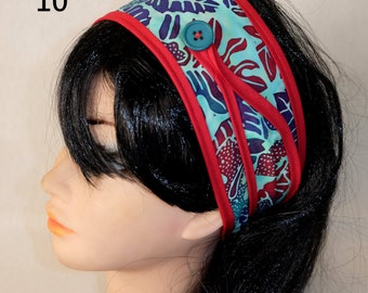 1 headband hair woman in fabric