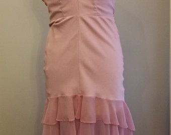 Job lot..Rose pink bridesmaid dresses size 10, 12 and 2 size 16 different styles,  same material and colour, price is per dress