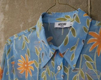 Moschino Sheer Vintage Shirt