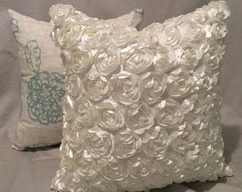 decorative floral PIllows
