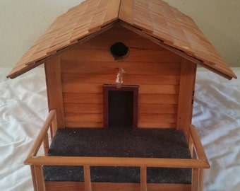 bird house  decorative/bird house/wooden bird house/hand made bird house