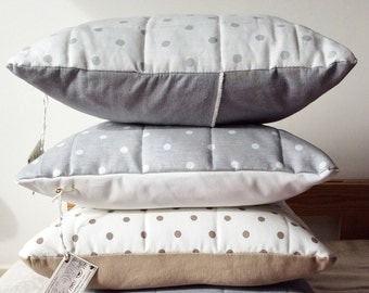 NEW SPRING Cover Pillows Plump & polka dot-NET-Modern Home Decor-Italian Style Wowmood