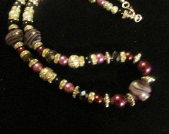No. 271 Beautiful Beaded Necklace
