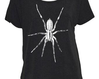 Spider Off-The-Shoulder Shirt