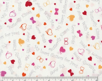 Love Bugs - Per Yd - Cute Fabric for Baby