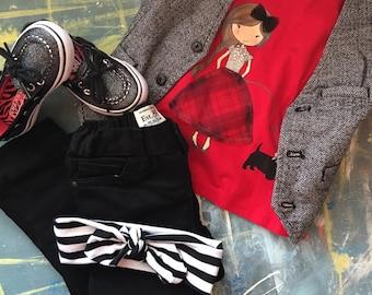 Black/White Stripes