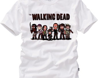 Zombie tshirt,The Walking Dead T-shirt,Angel Wings,Daryl Dixon shirt,Walking Dead Shirt,Zombie Shirt